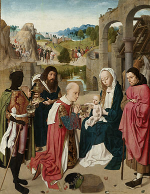 Geertgen tot Sint Jans, Adoration of the Magi, 1480 – 1485.