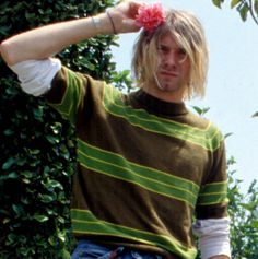 kurt cobain flower