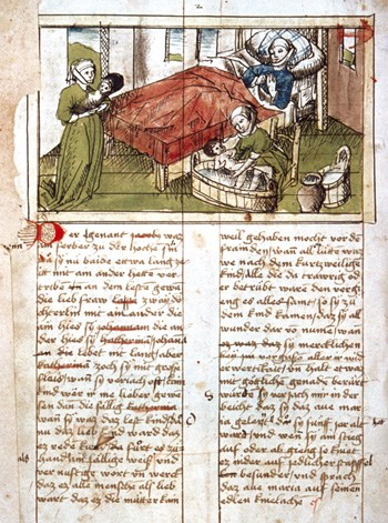 medieval childbirth blog