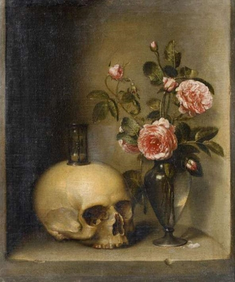 blog smelling time vanitas hourglass